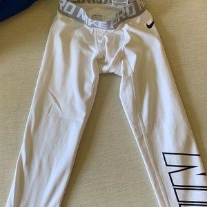 Boys Nike compression pants. Excellent condition!